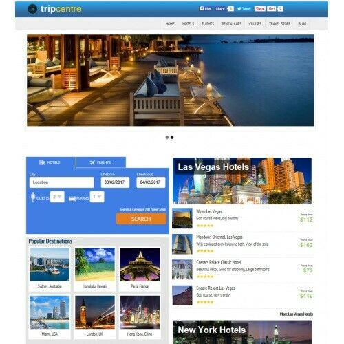Earn Money Travel Website Automatic