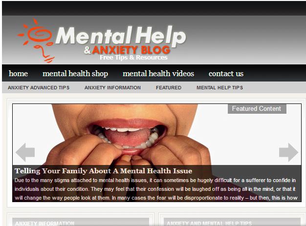 Established Mental Health Website