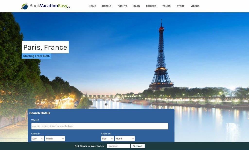 Established WordPress Travel Website Script 100% automated - Make $1 -$4/Click