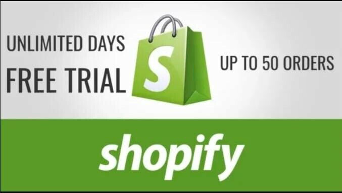 Free Shopify Store With Unlimited Trial Without paying 29$/Month +1premium them.