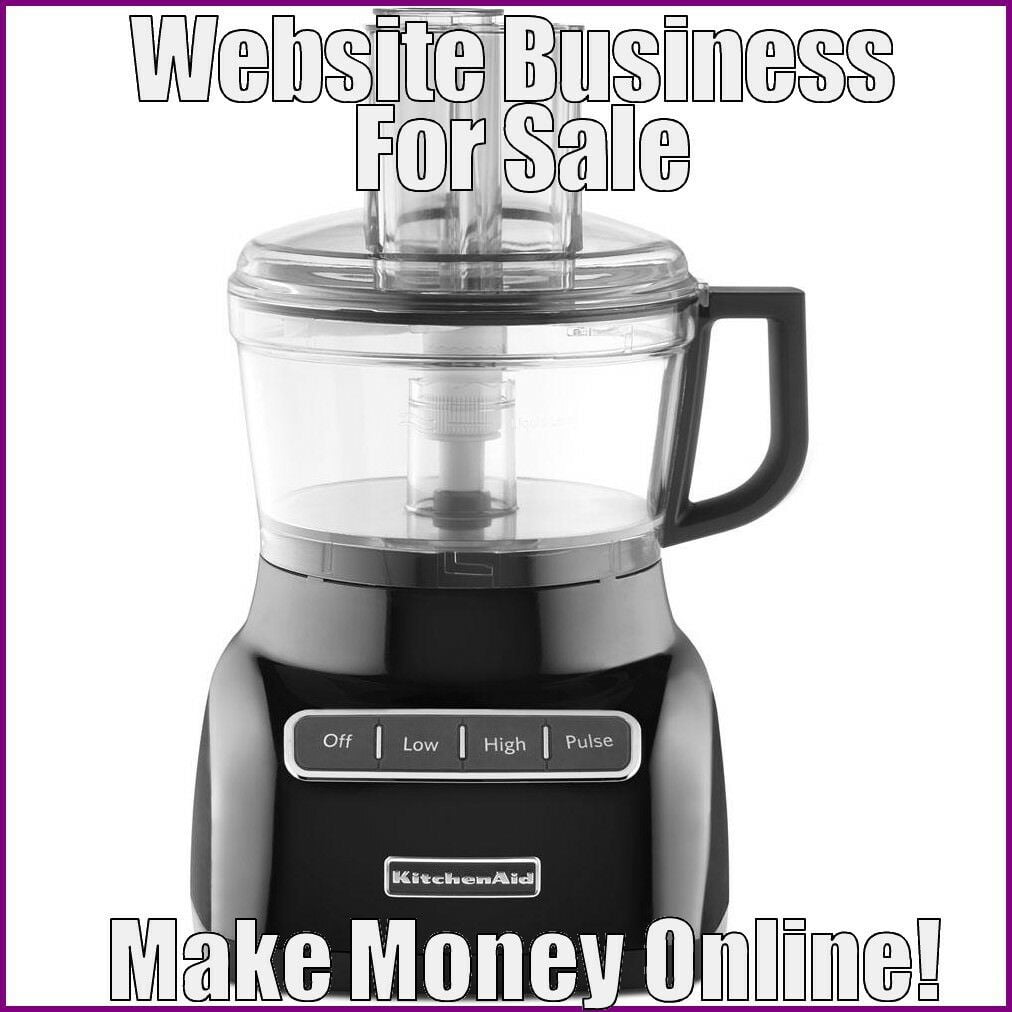 Fully Stocked FOOD PROCESSORS Website Business|FREE Domain|FREE Hosting|Traffic