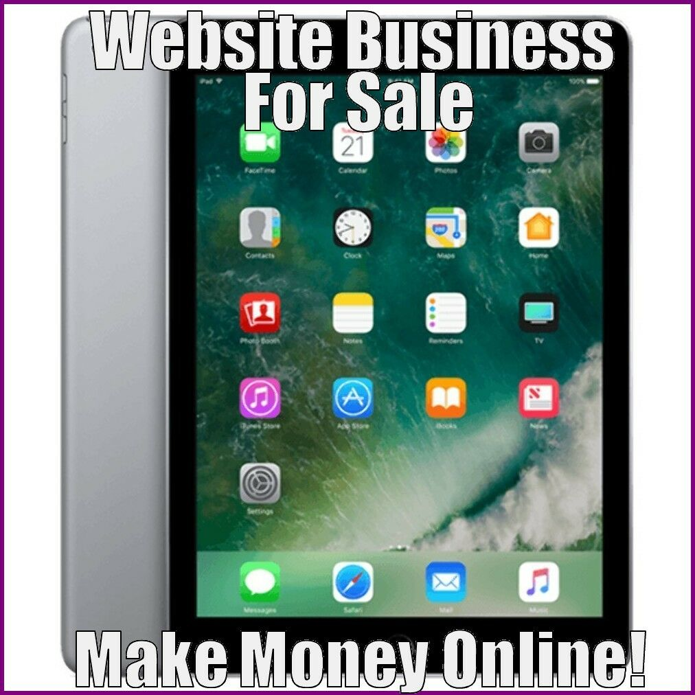 Fully Stocked TABLETS Website Business|FREE Domain|FREE Hosting|FREE Traffic