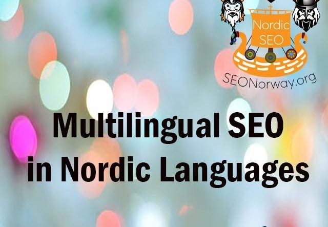 Multilingual Nordic SEO with SEONorway.org 1