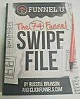 NEW FUNNEL U - THE 74 FUNNEL SWIPE BOOK By RUSSELL BRUNSON & CLICKFUNNELS