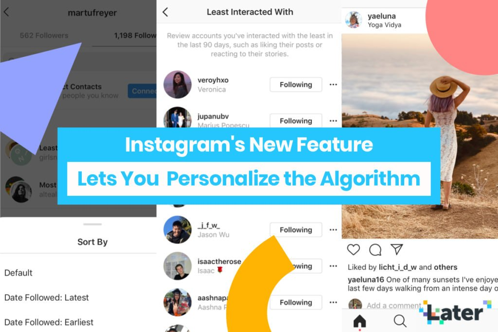 New Instagram Following Categories Help You Personalize the Algorithm