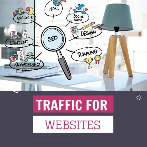 OFFER -  Real Web Traffic 20 Million Worldwide Traffic Website