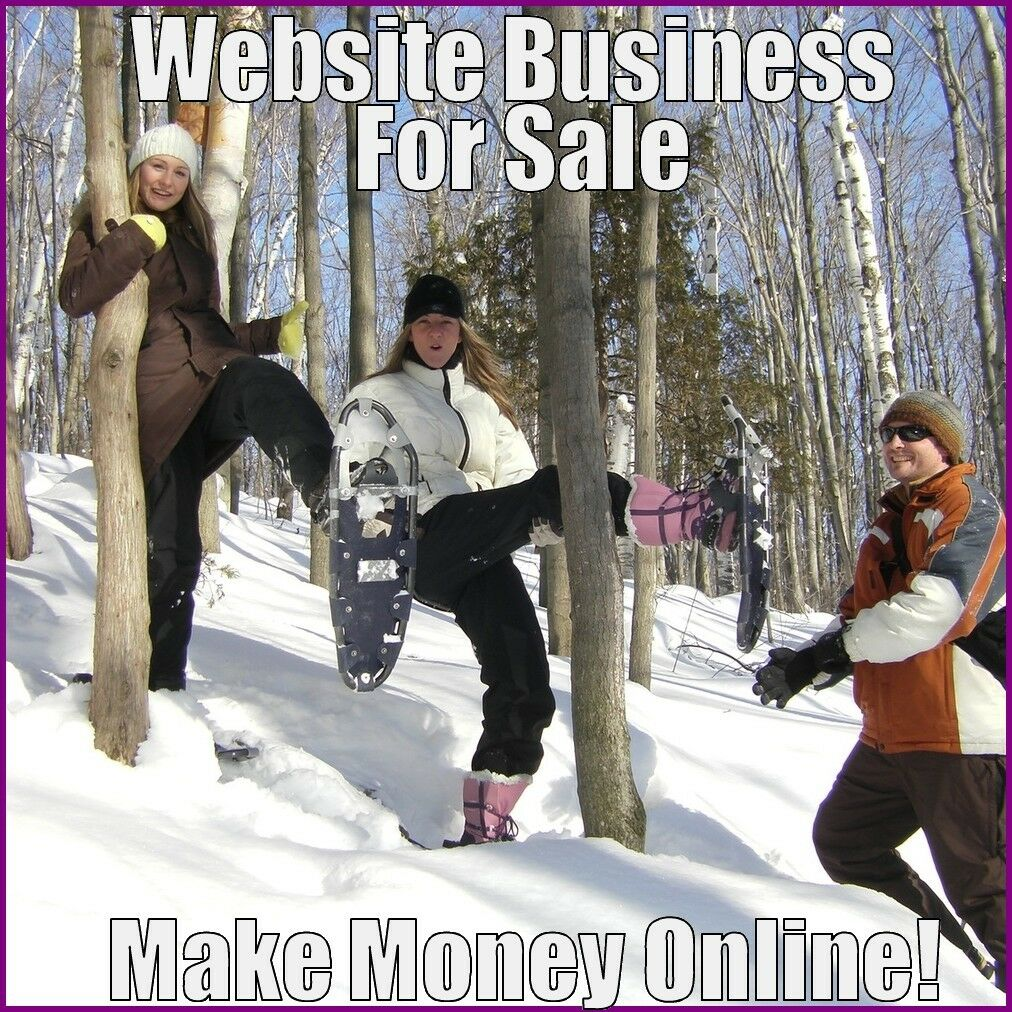 SNOWSHOEING Website Earn $27.62 A SALE|FREE Domain|FREE Hosting|FREE Traffic