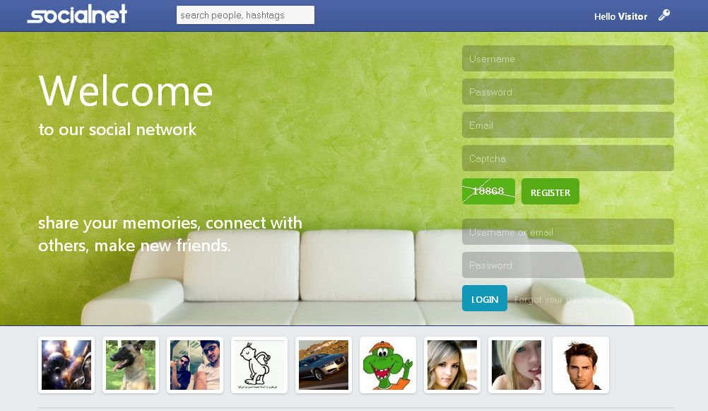 Social Network Website + Free Hosting and Installation