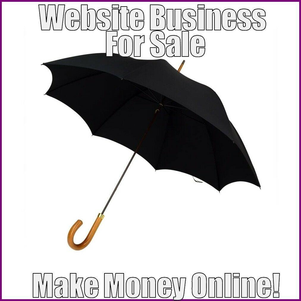 UMBRELLAS Website Earn $21.11 A SALE|FREE Domain|FREE Hosting|FREE Traffic