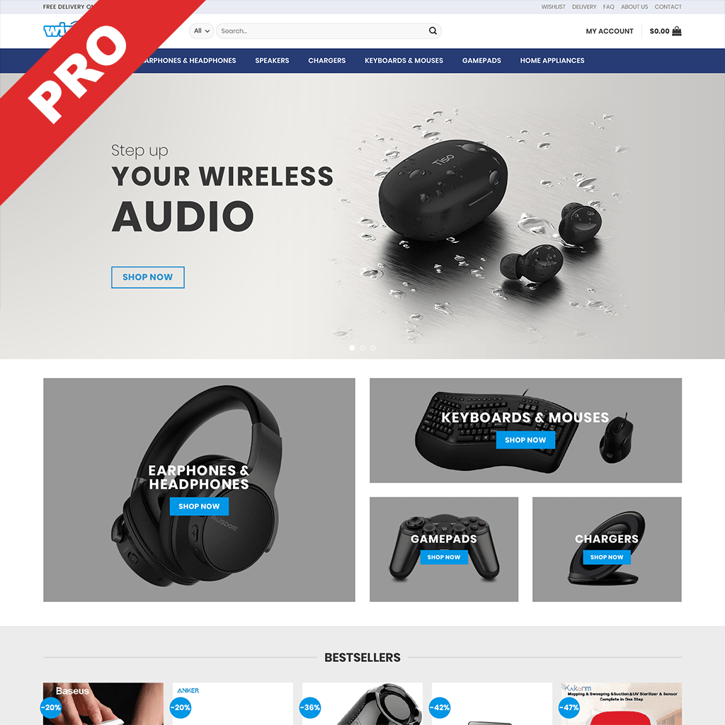 WIRELESS GADGETS STORE | Dropshipping Business | Profitable Website For Sale