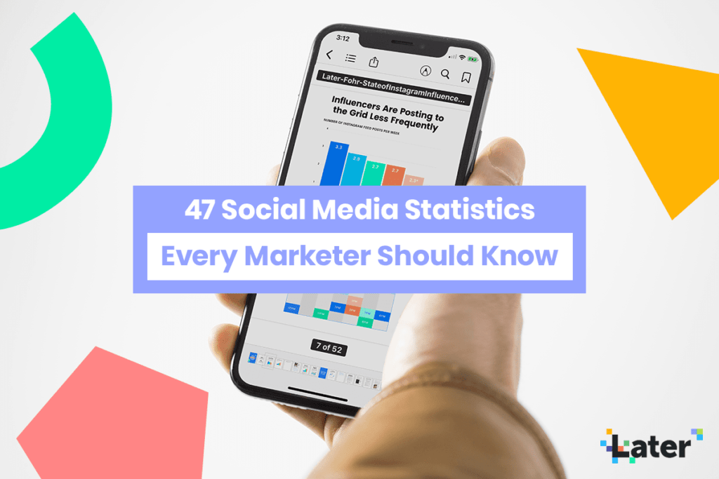 47 Social Media Statistics Every Marketer Should Know