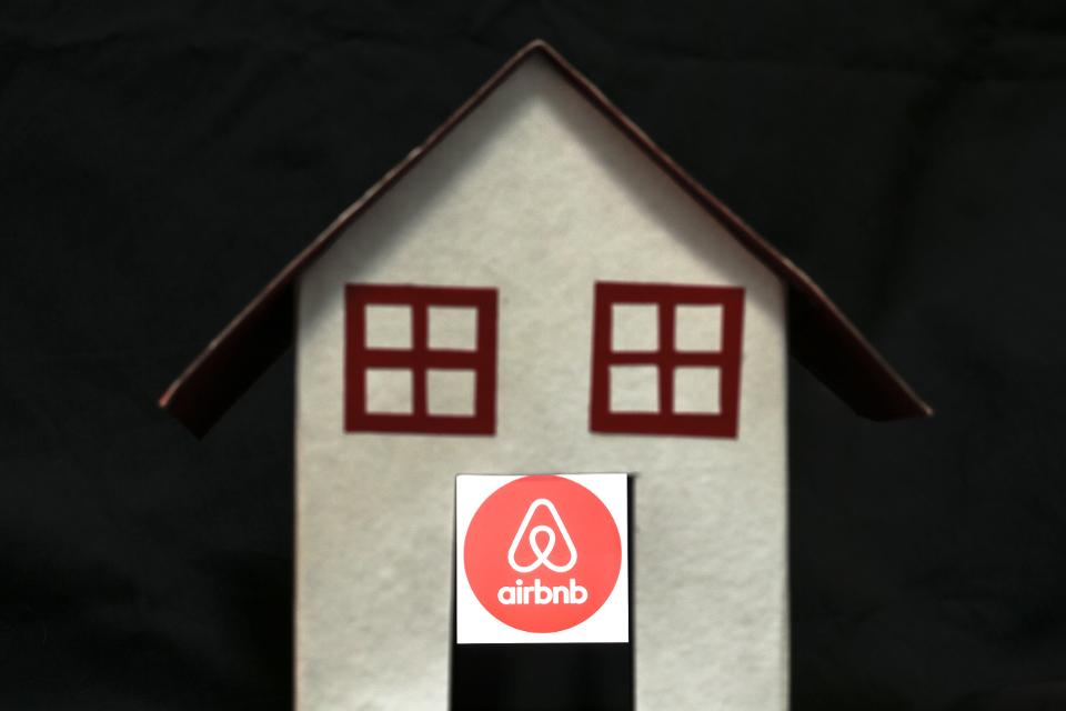 Airbnb cancellation policy in effect.