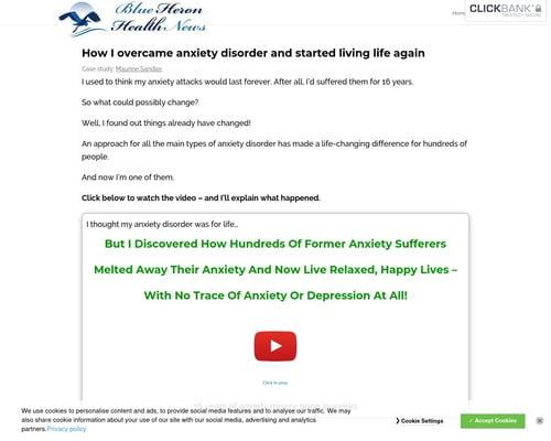 Anxiety Disorder - Blue Heron Health News