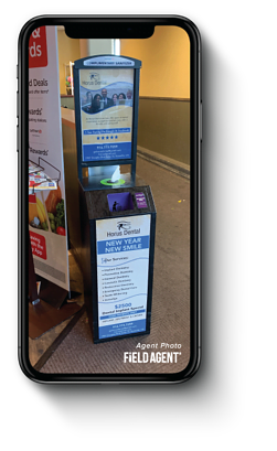 Disinfectant Wipes In-Store Dispenser Agent Photo