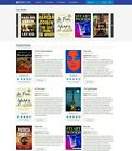 Books, eBooks & Audiobooks Store Website (Amazon, iTunes Affiliate) + Free Host