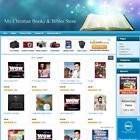 CHRISTIAN BOOKS and BIBLES STORE - Make Money with Your own e-Commerce Website!