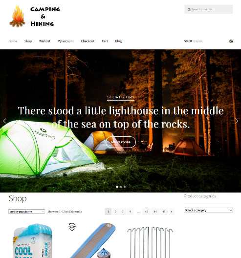 Camping & Hiking Website Business For Sale Unlimited Stock ON SALE