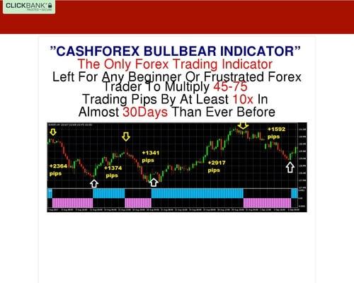 CashForex Bullbear Non-Repaint Trading Indicator