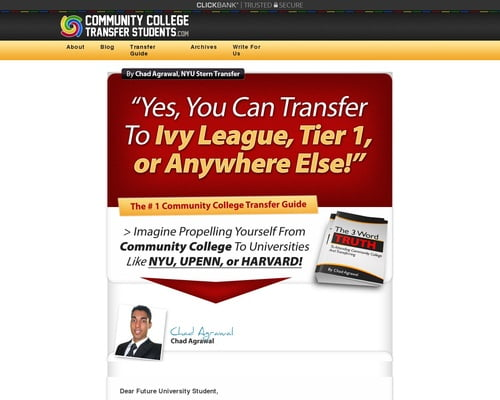 Community College Guide – How To Transfer To Ivy League & Tier 1