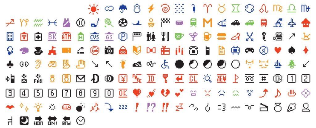 Original set of 176 pictograms