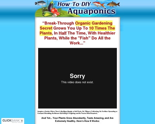 How To Diy Aquaponics ~ Brand New ~ Great Conversions!