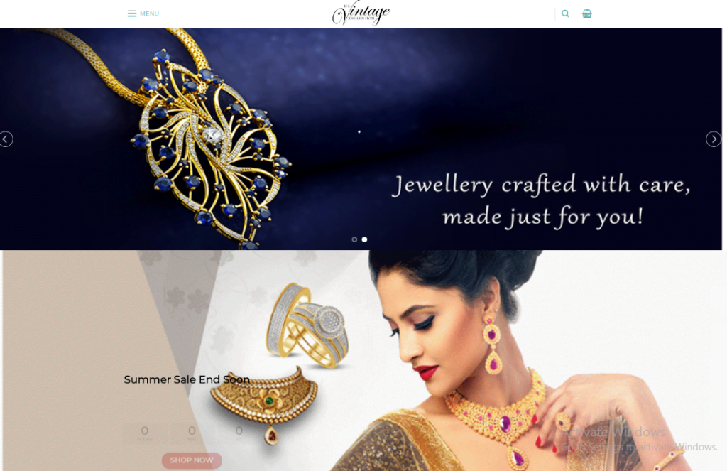 JEWELRY STORE- Turnkey Dropshipping Premium eCommerce Website