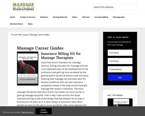 Massage Practice Builder: Ebooks