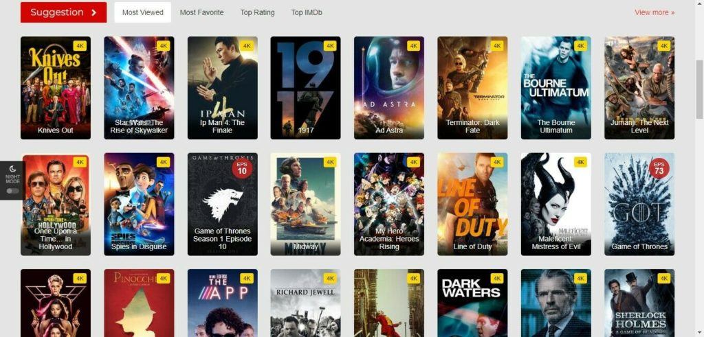 Movies streaming  Website Unlimited Earning Free Installation