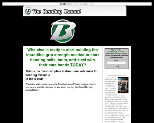 Nail Bending System - How to Build Hand Strength to Bend Nails, Bolts, and Steel