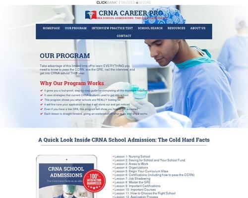 Our Program   CRNA Career Pro