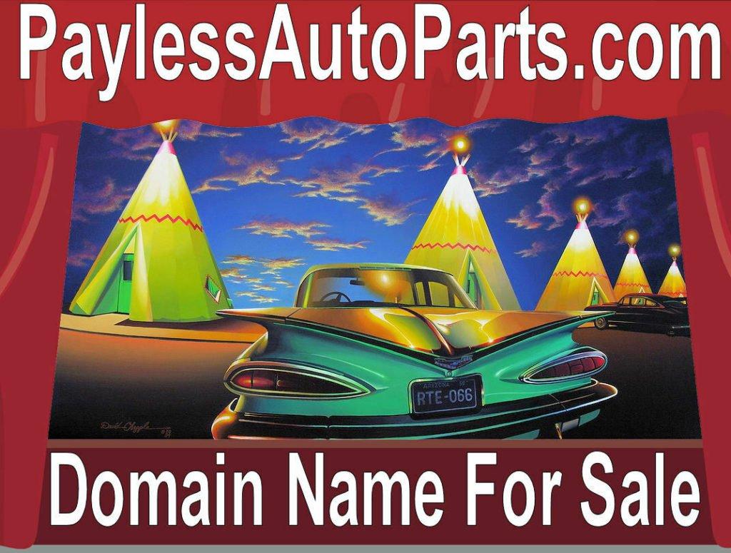 Payless Auto Parts .com  Domain Name For Sae Car part dealer Website Online URL
