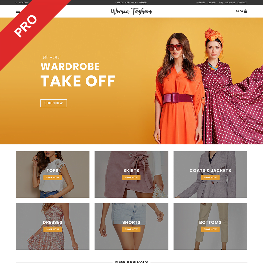 Premium Dropshipping Store | WOMEN FASHION | Automated Website Business For Sale