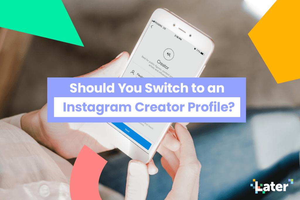 instagram creator profile