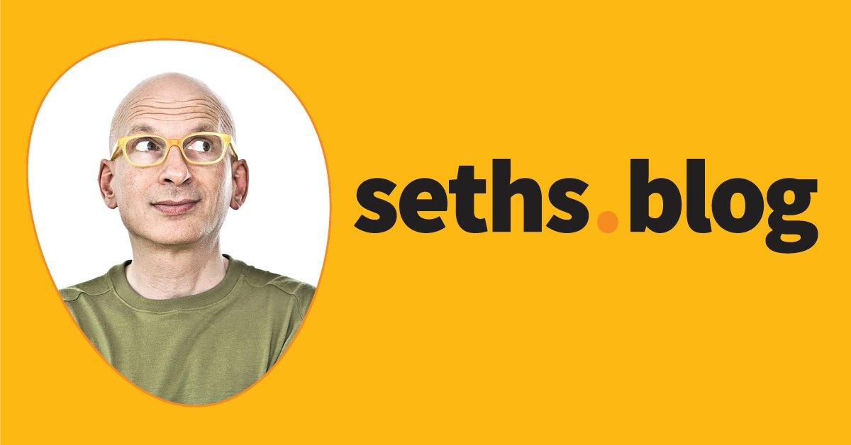 The paradox of selfishness   Seth's Blog