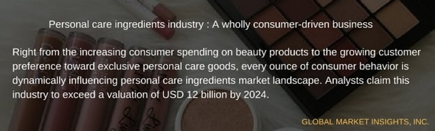 personal care ingredients market