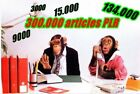 300,000 PLR Articles, 2,000 E-books + More