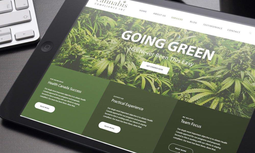 Cannabis website SEO
