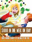 Earn $1000 in one week on Ebay Make money ebook + Resell rights + bonuse books
