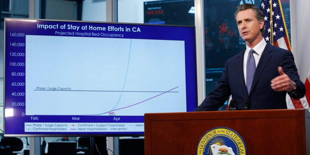 How California plans to get back to business as covid-19 cases fall