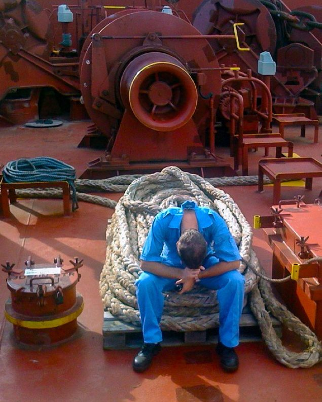 How months at sea prepared me for lockdown on land