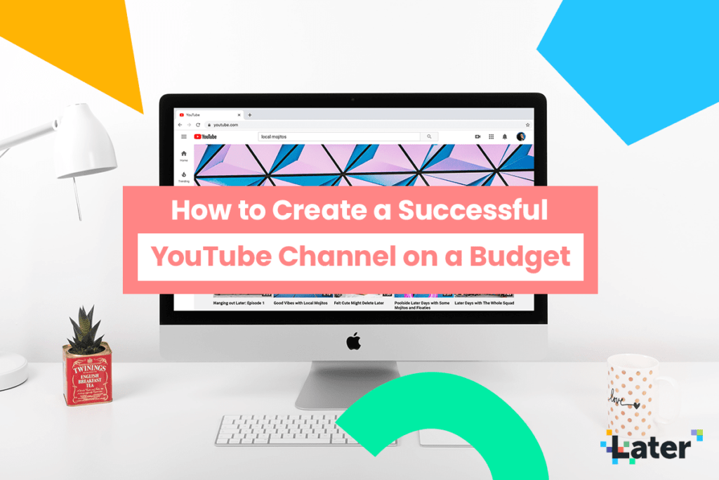 How to Create a YouTube Channel on a Budget