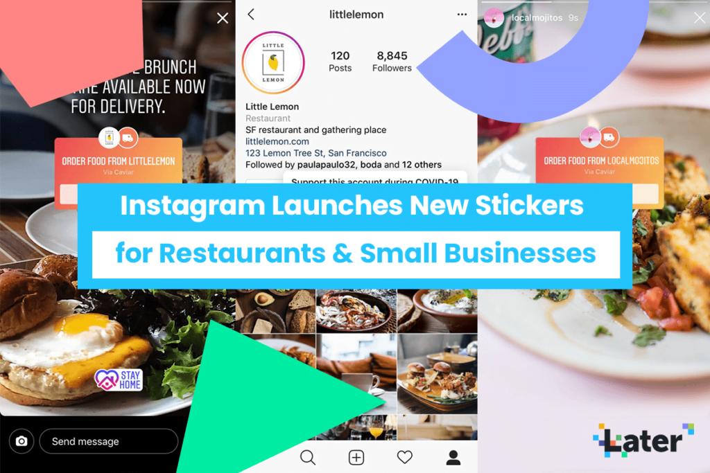 instagram stories food orders