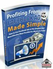 Profiting From Face book Ads W/ Master Resell Rights +10 Bonus eBooks W/ MRR PLR