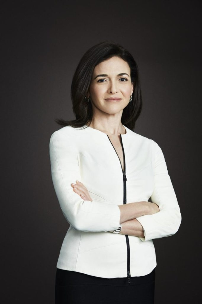 Headshot of Sheryl Sandberg