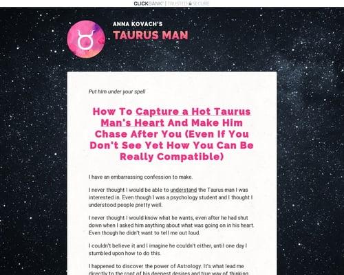Taurus Man Secrets