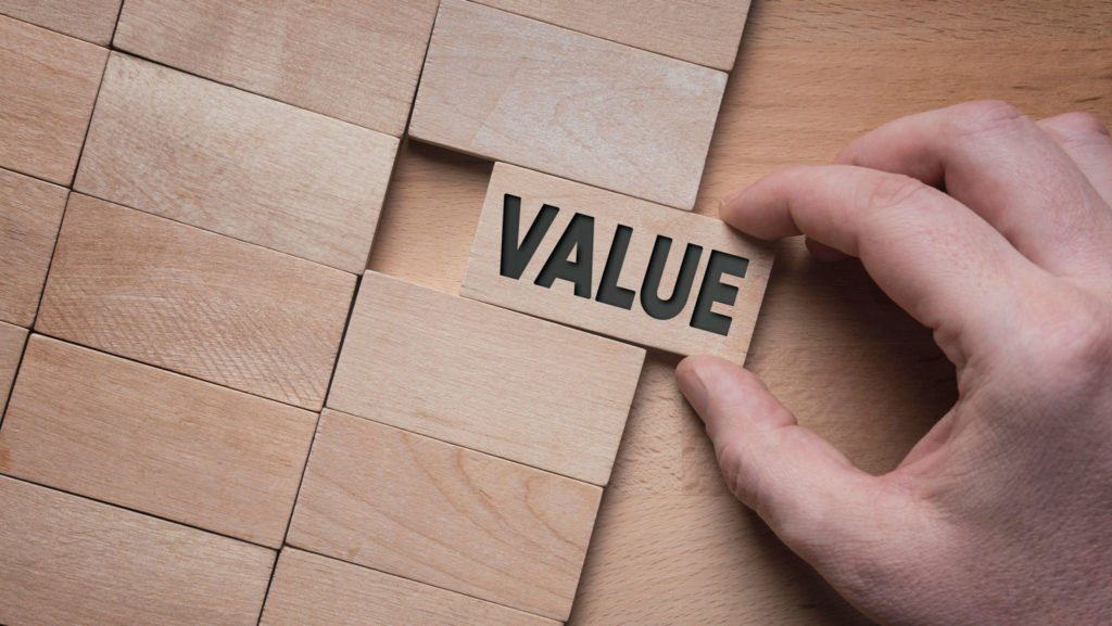 The View on Value: Add client value via implementation & behavioural understanding not online options & barometers