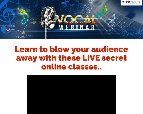 Vocal Lessons Live - Hot New Super Converter For 2018.
