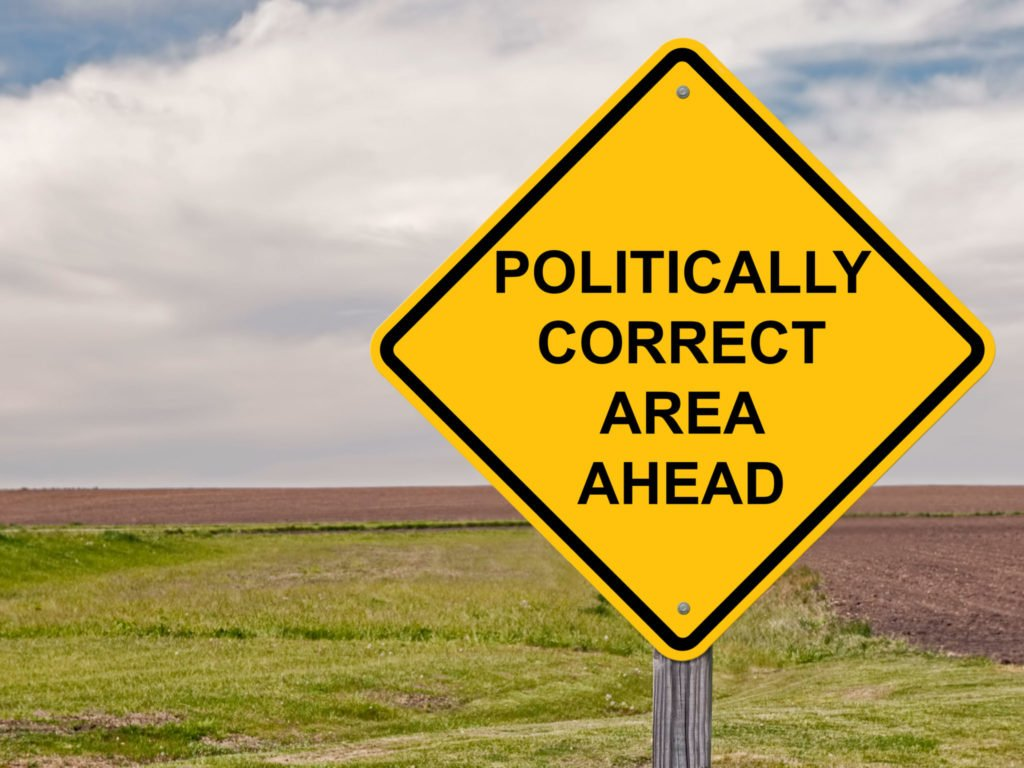 We need to talk about political correctness