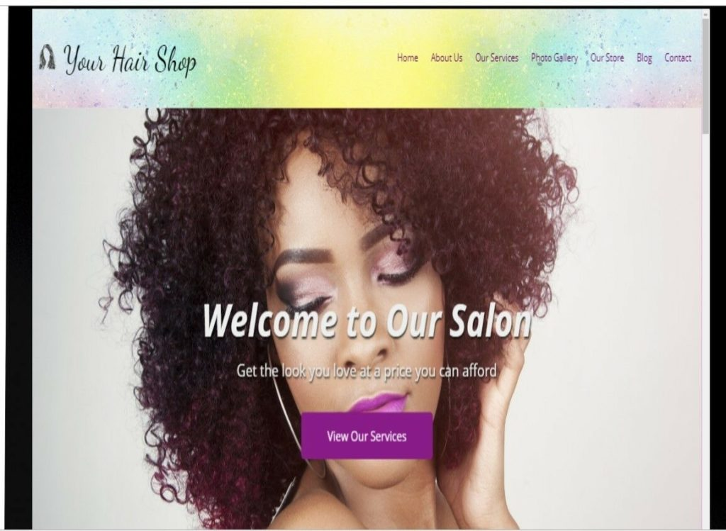 Website Amazon Affiliate & Hair Salon Website #H001 Over 900k Products to Add!