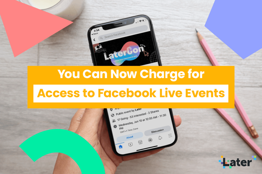 You Can Now Charge for Access to Live Facebook Events